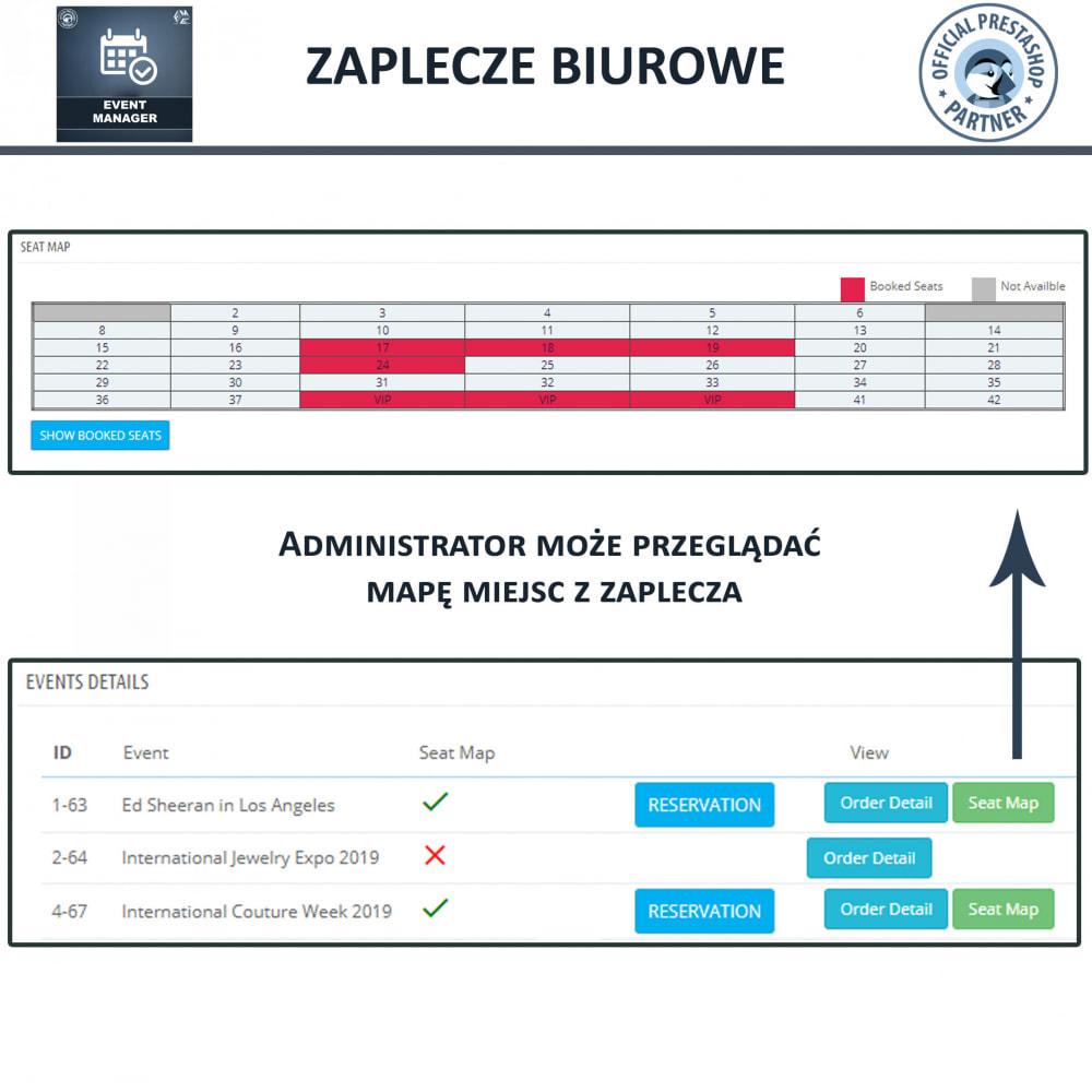module - Wynajmu i rezerwacji - Menadżer wydarzeń, Twórz Wydarzenia i Sprzedawaj Bilety - 12