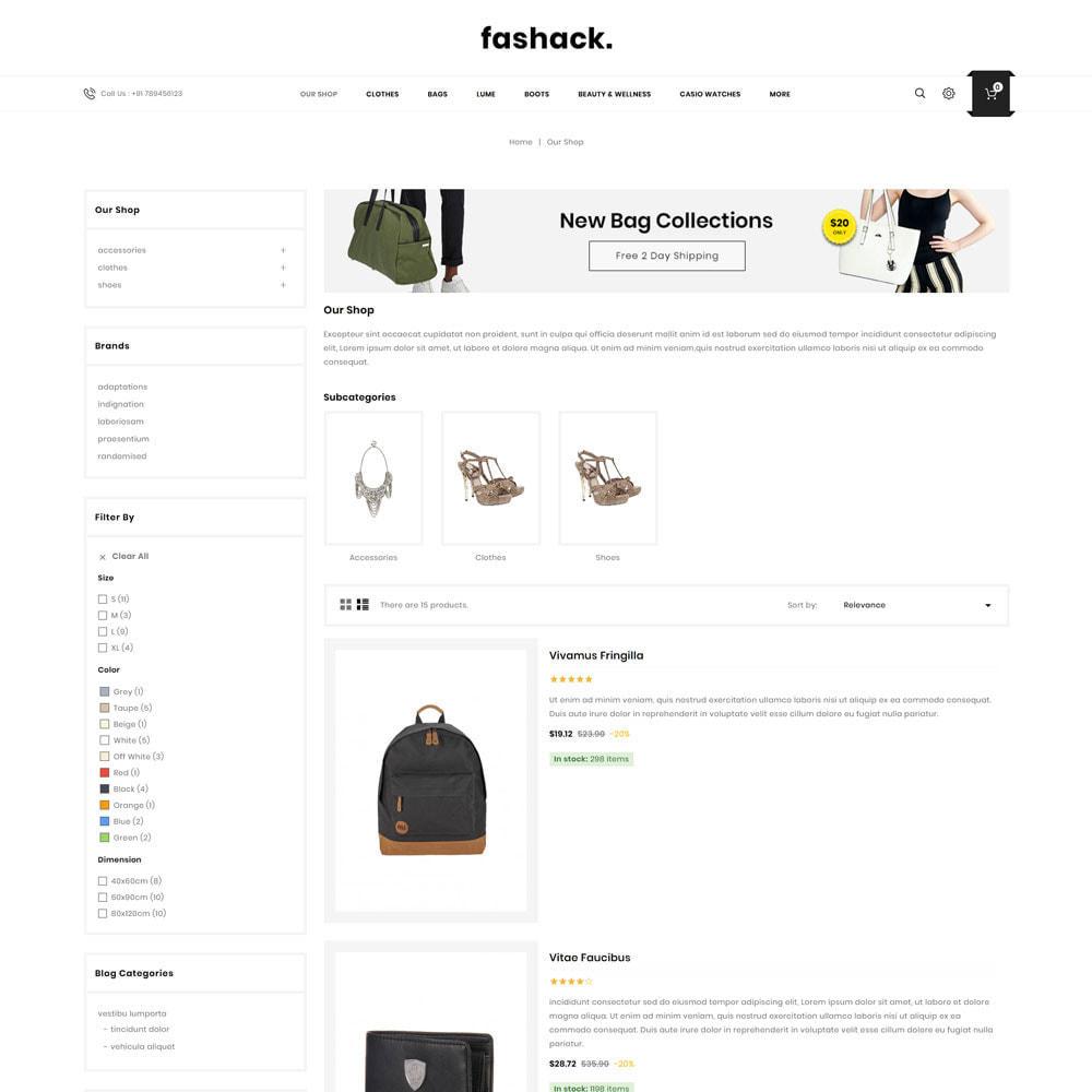 theme - Fashion & Shoes - Fashack - The Fashion Store - 5