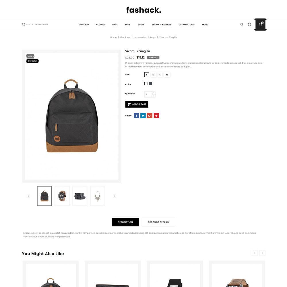 theme - Fashion & Shoes - Fashack - The Fashion Store - 6