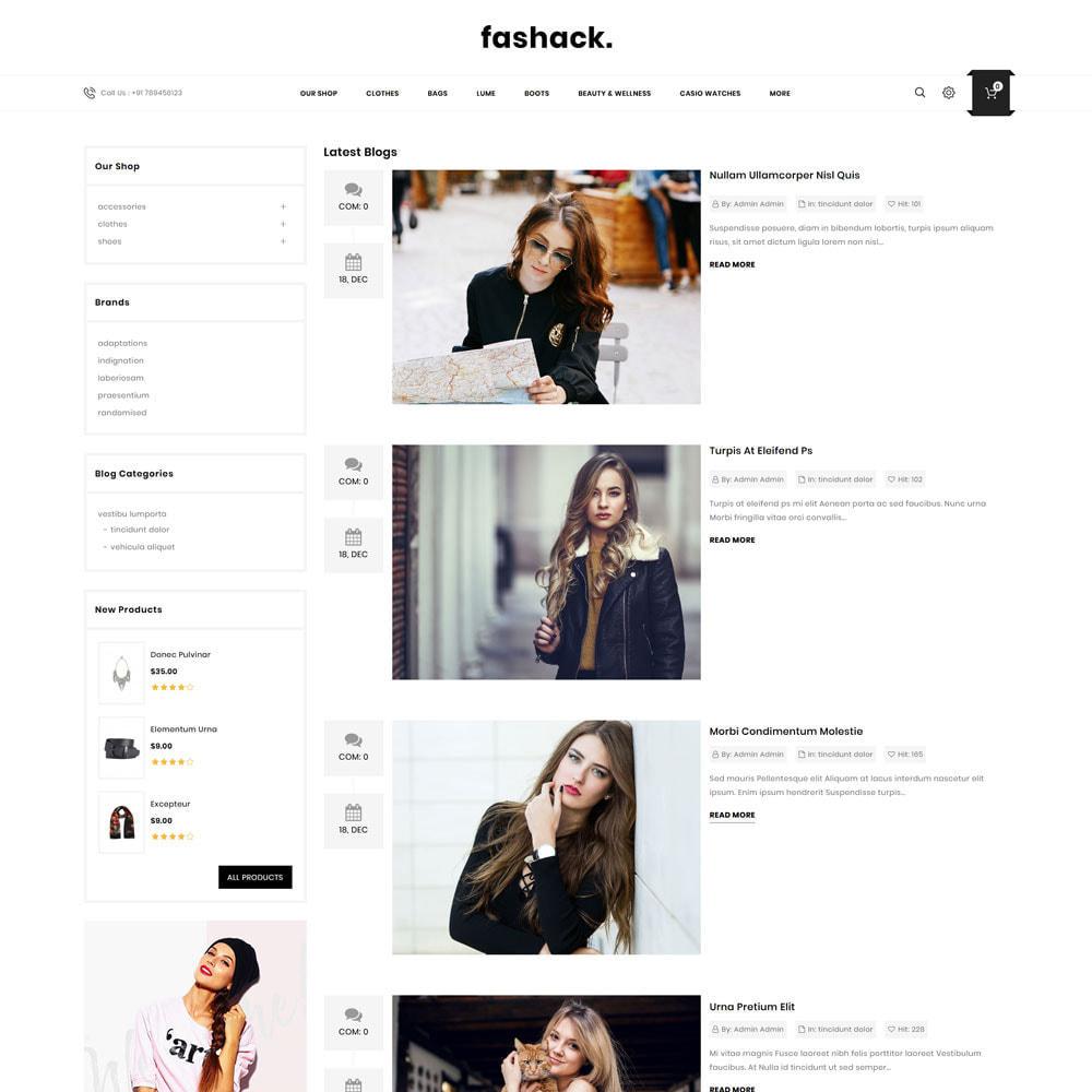 theme - Fashion & Shoes - Fashack - The Fashion Store - 7