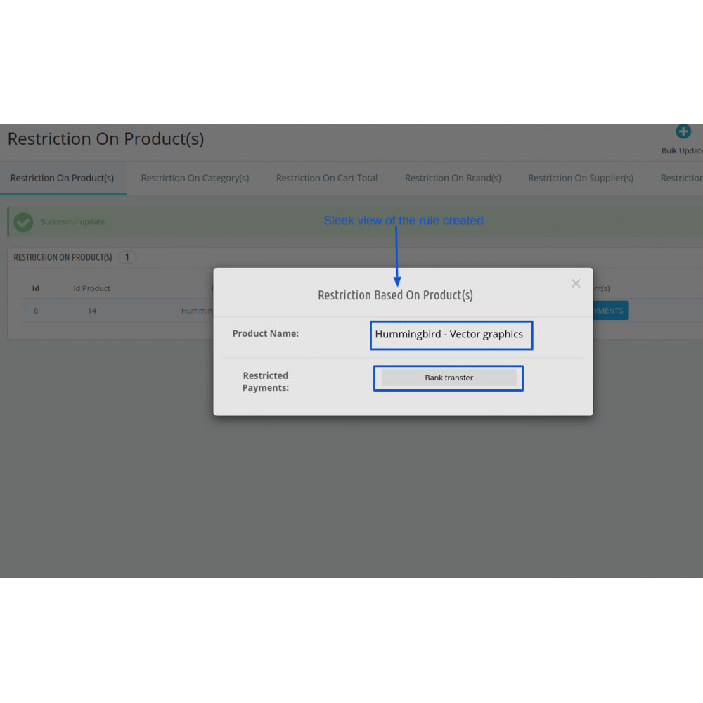 module - Customer Administration - Restrict Payment Methods Pro - 6