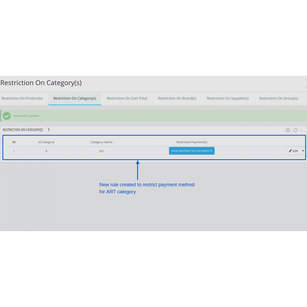 module - Customer Administration - Restrict Payment Methods Pro - 13
