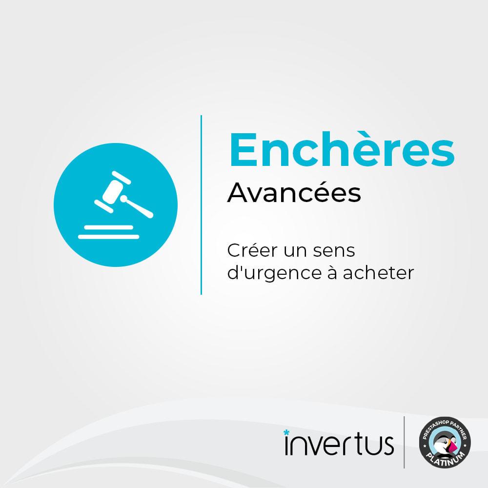module - Site d'enchères - Enchères Avancées - 1