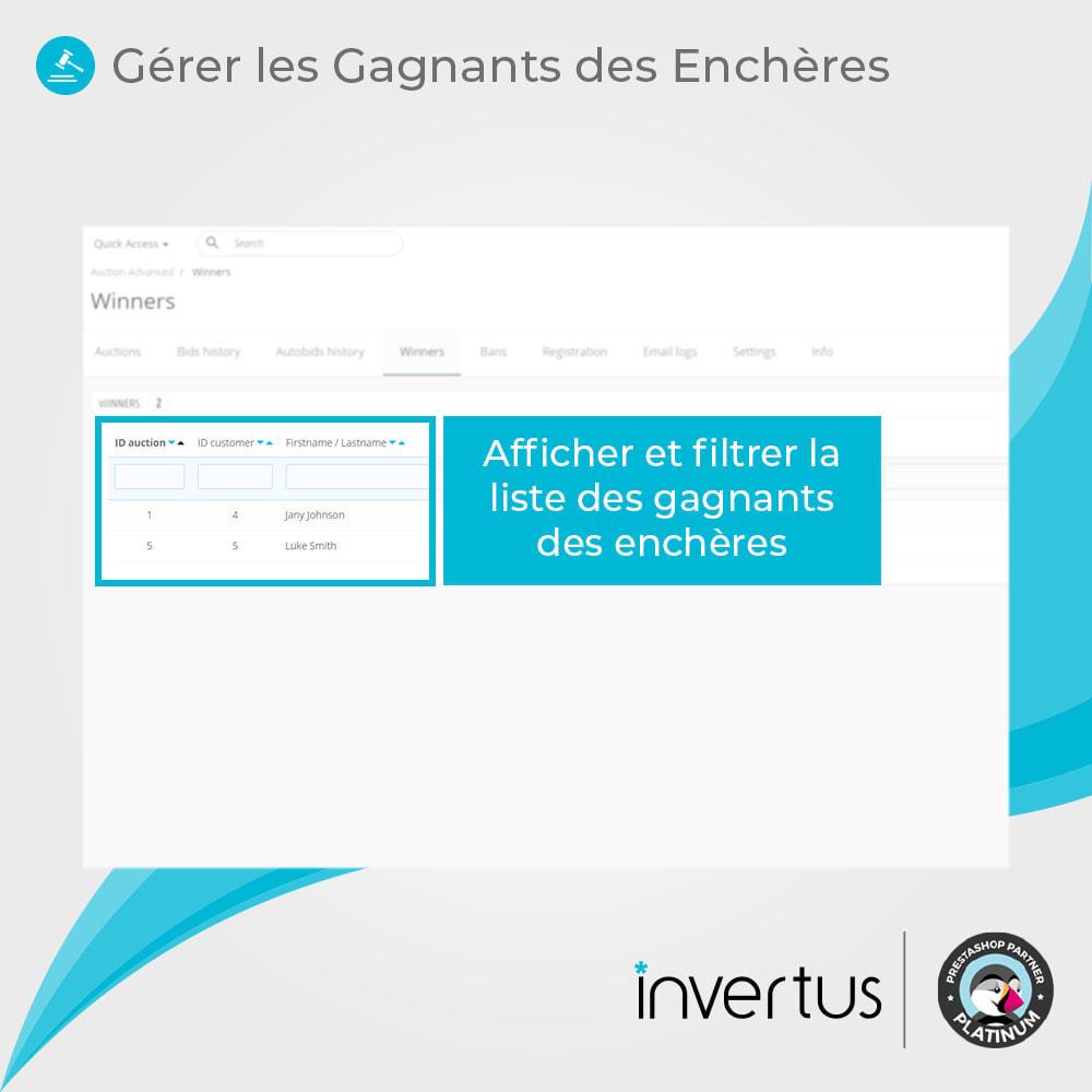 module - Site d'enchères - Enchères Avancées - 10