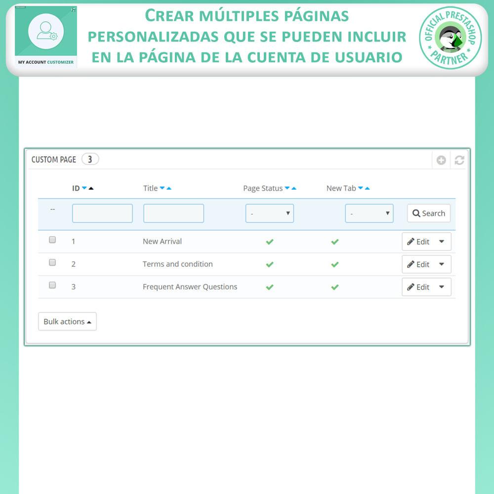module - Herramientas Administrativas - Personalizador De Mi Cuenta - 9