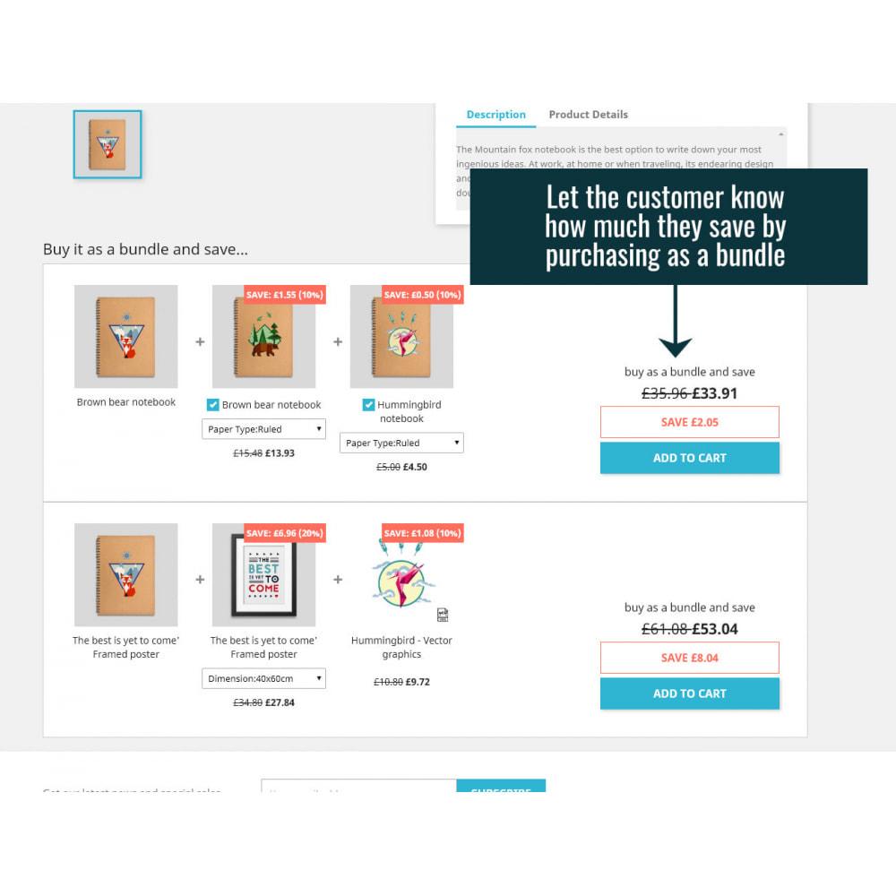module - Vendas cruzadas & Pacotes de produtos - Product Bundles Pro - 3