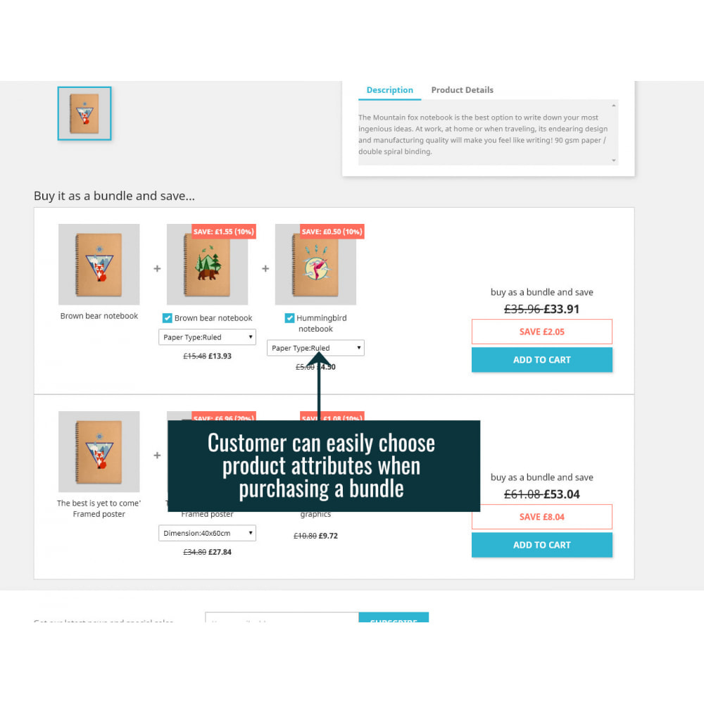 module - Vendas cruzadas & Pacotes de produtos - Product Bundles Pro - 4