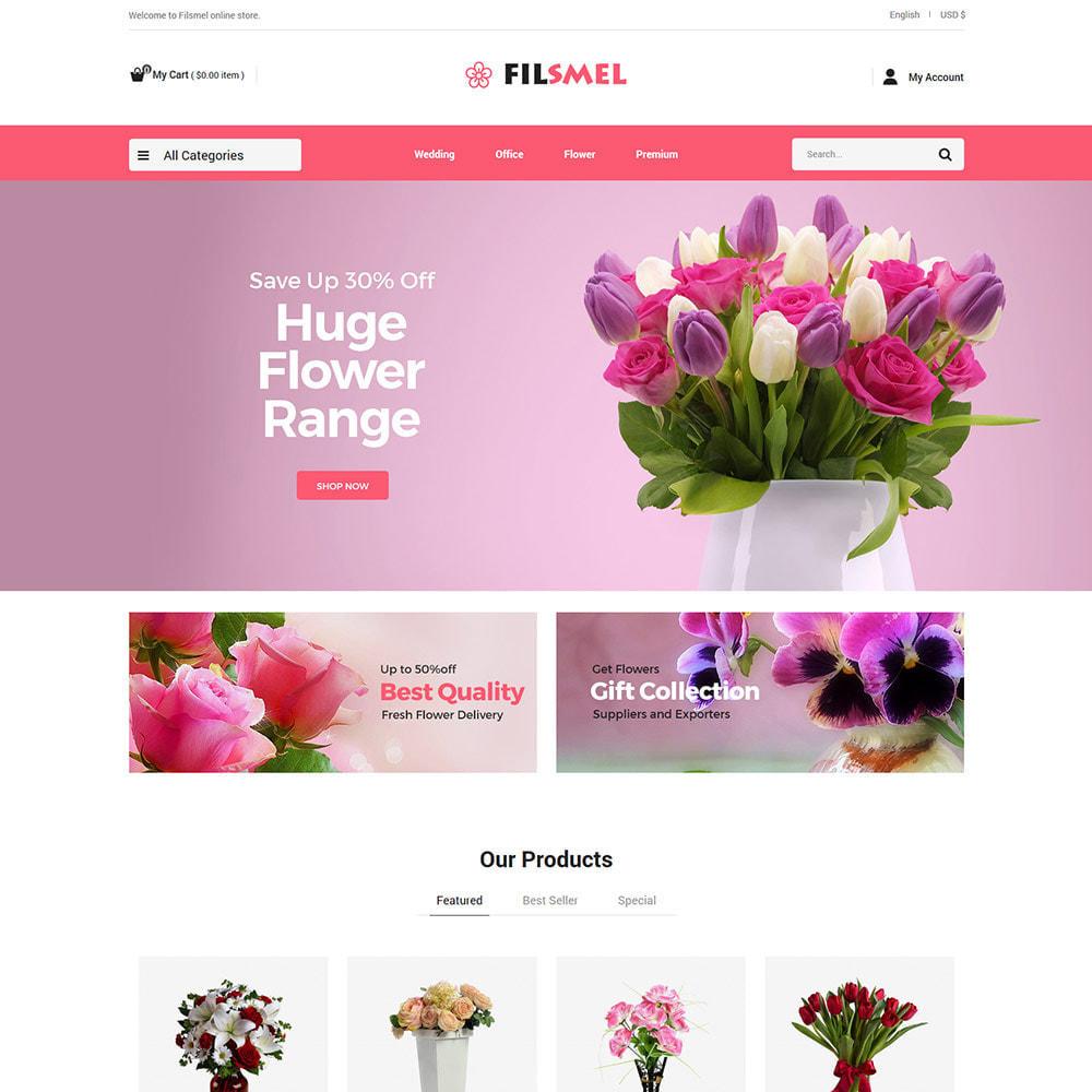 theme - Prezenty, Kwiaty & Uroczystości - Prezent z kwiatów - sklep z czekoladą na uroczystości - 1