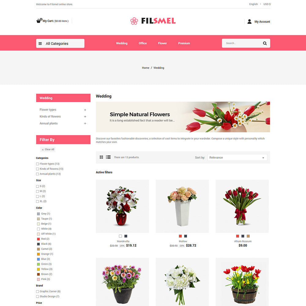 theme - Presentes, Flores & Comemorações - Flower Gift  - Wedding  Art Celebration Choclate Store - 3