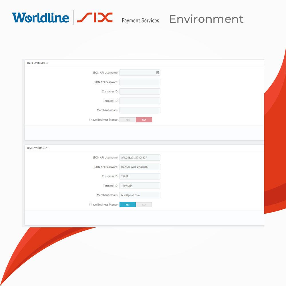 module - Zahlung per Kreditkarte oder Wallet - Saferpay -  Payment Solution - 3