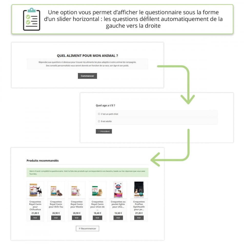 module - Formulaires de Contact & Sondages - Questionnaire de conseil de produits - 6