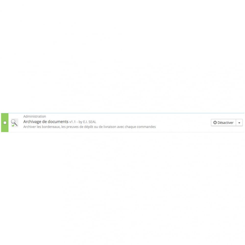 module - Gestion des Commandes - Archivage de documents / ArchivDocs - 3
