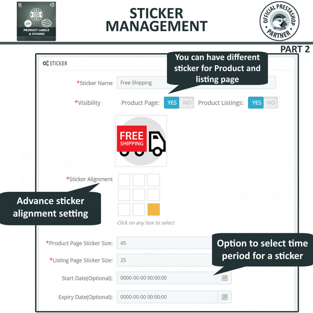 module - Badges & Logos - Product Labels and Stickers - 9