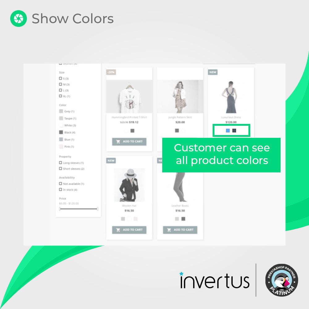 module - Diversificação & Personalização de Produtos - Color Picker Simple - For Product Attributes - 3
