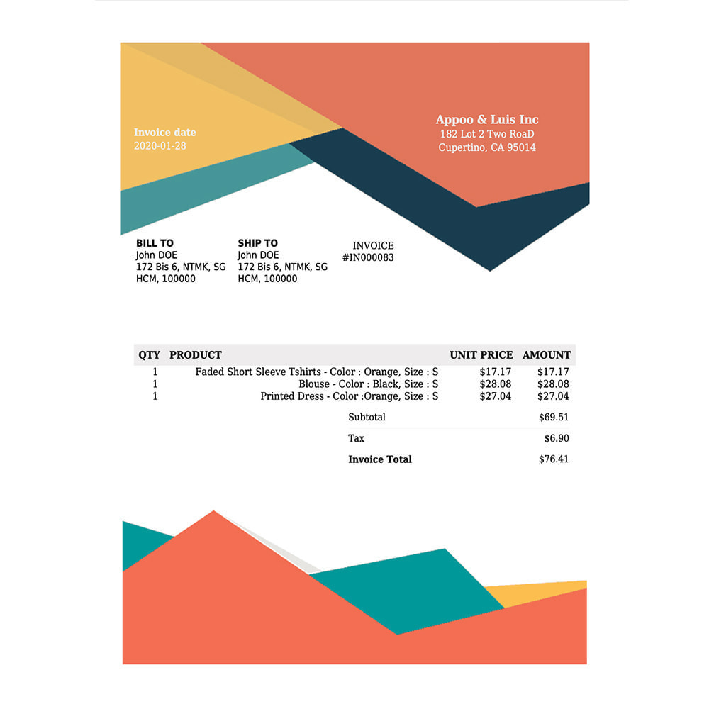 module - Buchhaltung & Rechnung - DocumenThemix: Invoice Template, Credit, Delivery Slips - 8