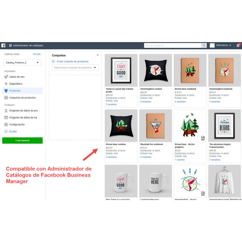 module - Productos en Facebook & redes sociales - Importador de Catálogo a Tienda Facebook e Instagram - 8