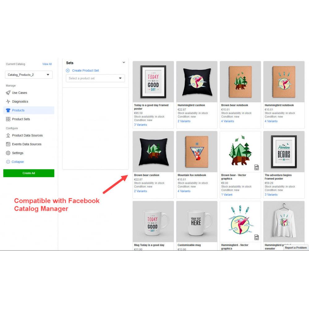 module - Товаров в социальных сетях - Facebook & Instagram Shop Catalog Importer - 8