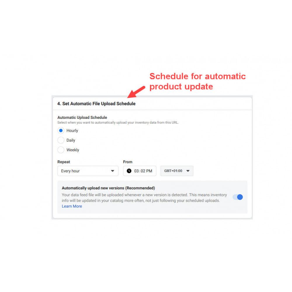 module - Товаров в социальных сетях - Facebook & Instagram Shop Catalog Importer - 10
