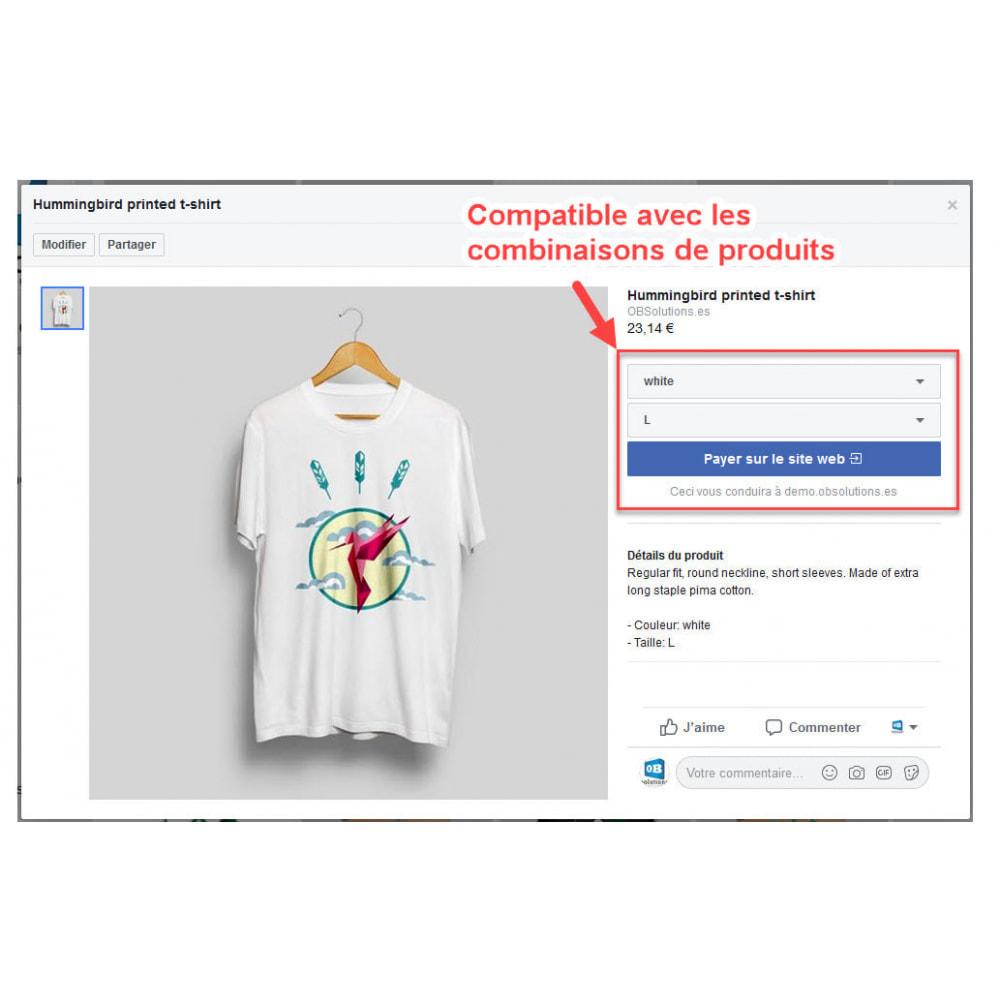 module - Produits sur Facebook & réseaux sociaux - Importateur de Catalogue sur Facebook et Instagram Shop - 5