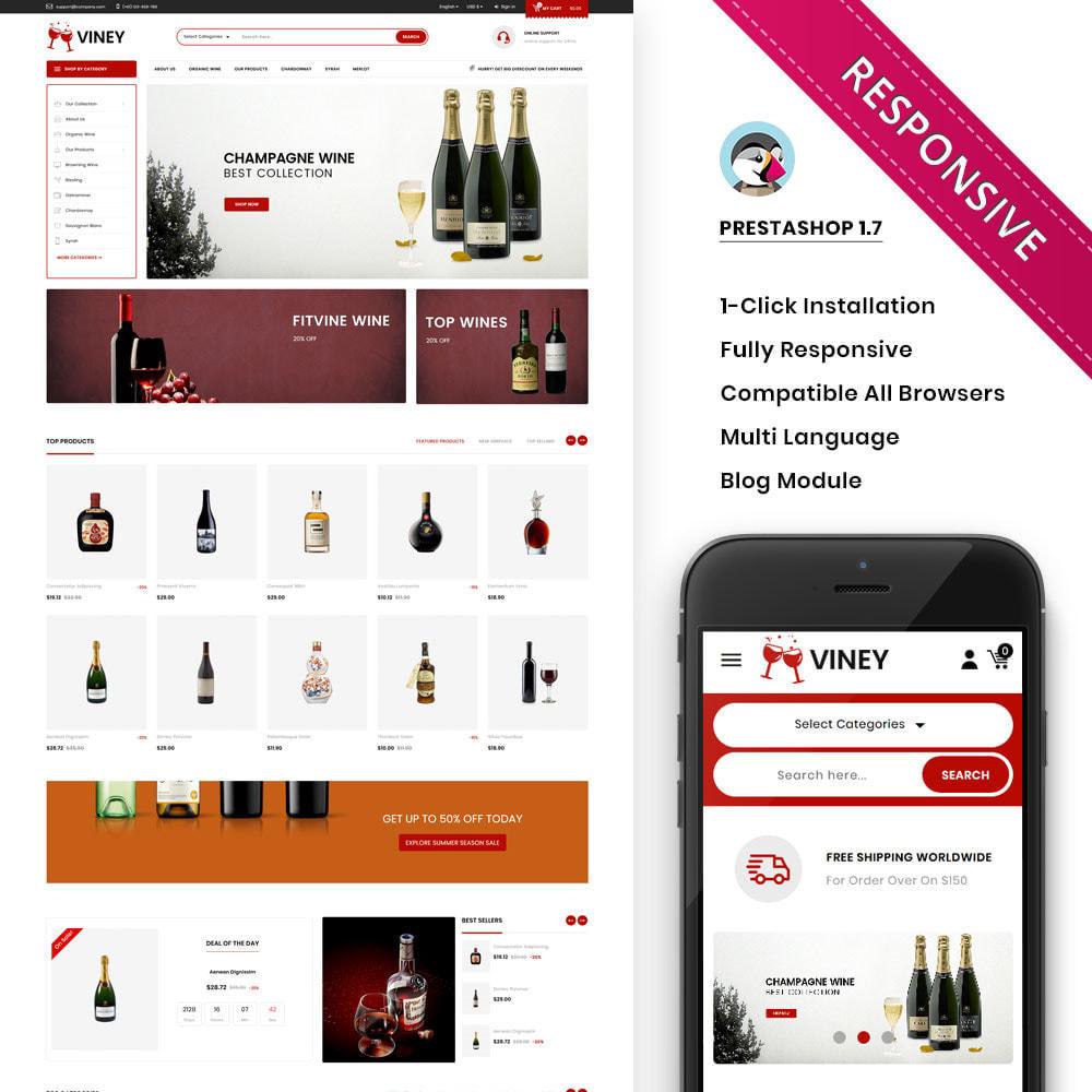 theme - Drink & Wine - Viney - The Mega Wine Shop - 1