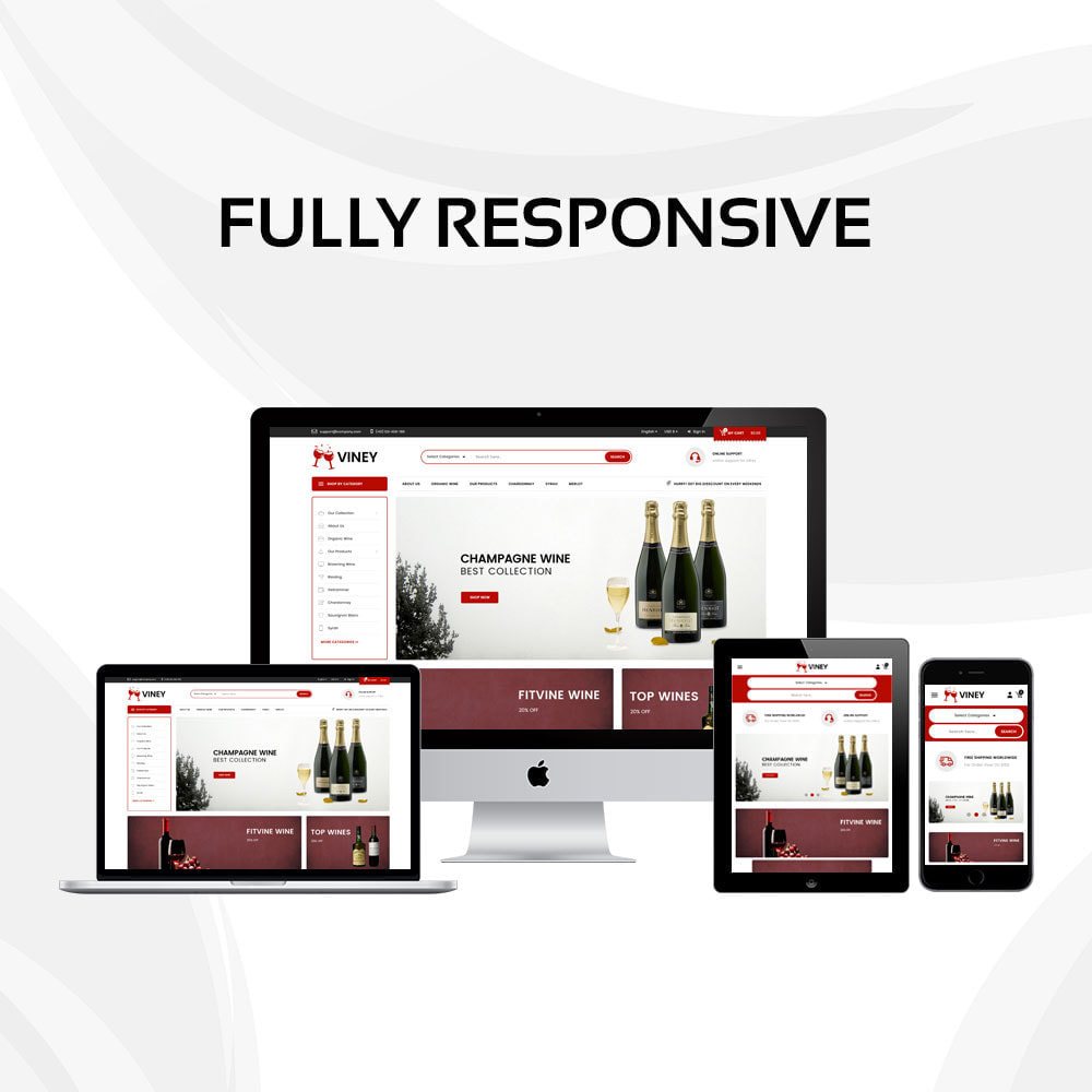 theme - Drink & Wine - Viney - The Mega Wine Shop - 2