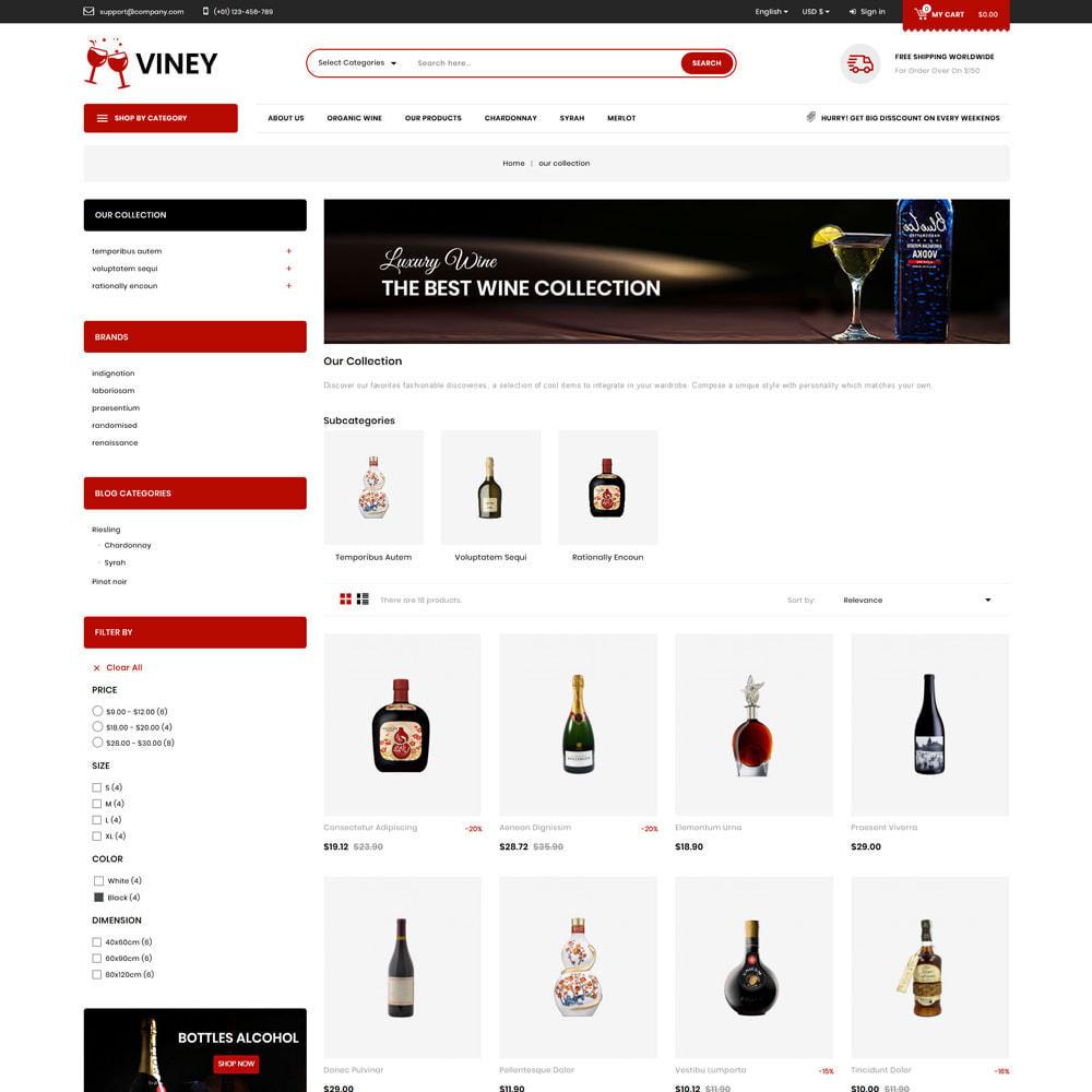 theme - Drink & Wine - Viney - The Mega Wine Shop - 4