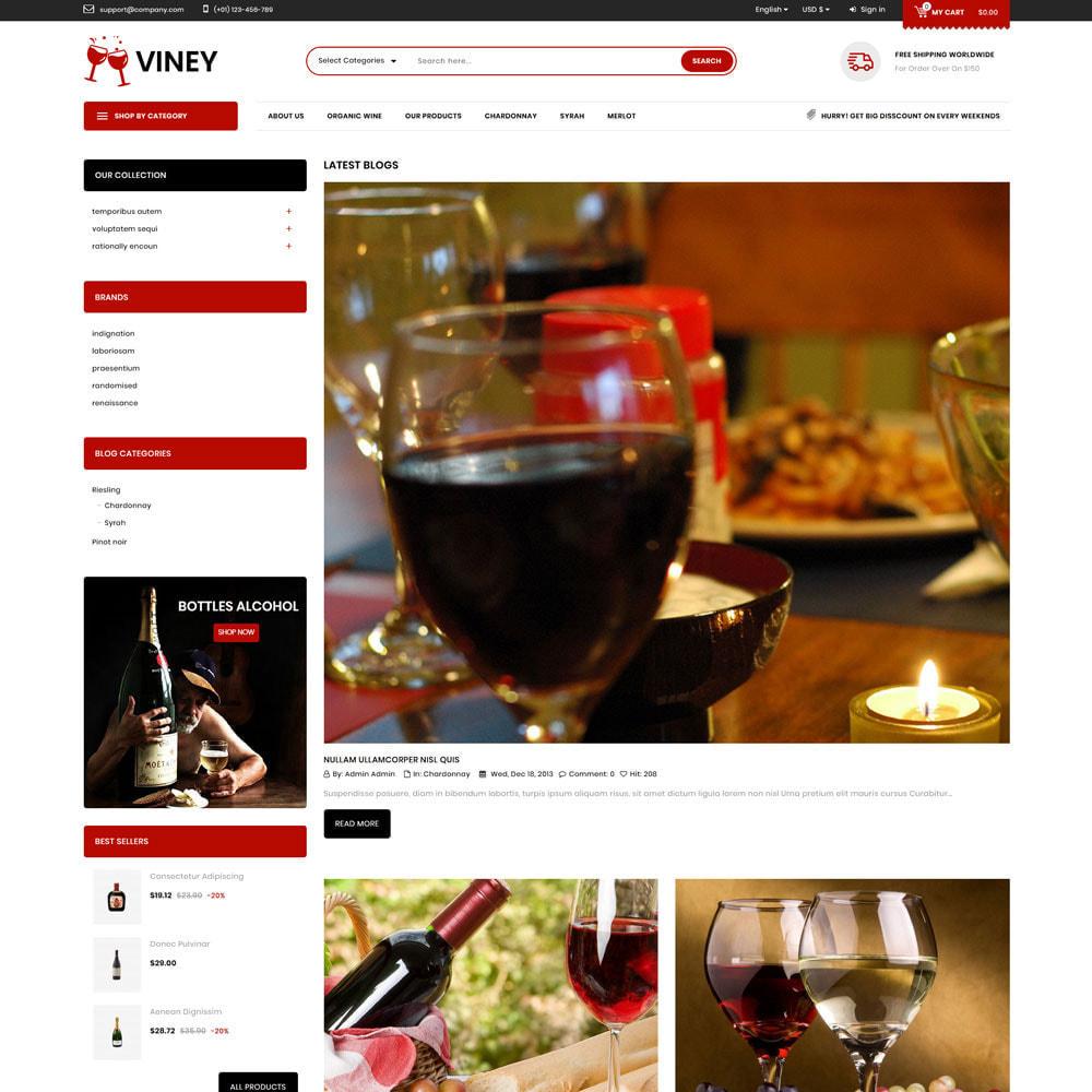 theme - Drink & Wine - Viney - The Mega Wine Shop - 7