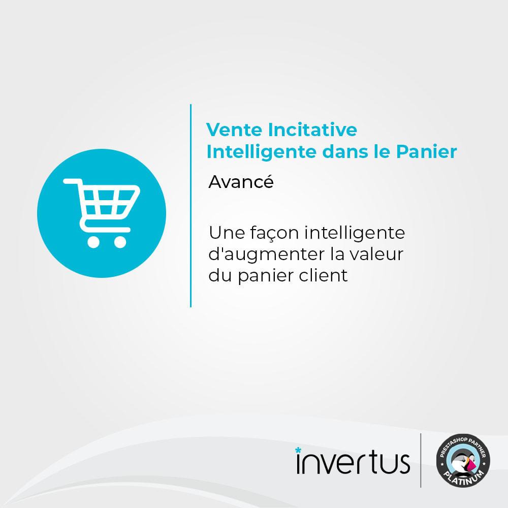 module - Ventes croisées & Packs de produits - Vente Incitative Intelligente - 1