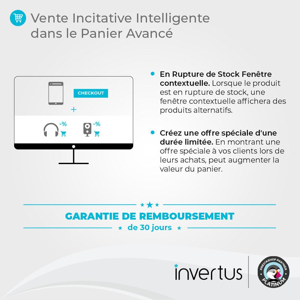 module - Ventes croisées & Packs de produits - Vente Incitative Intelligente - 2