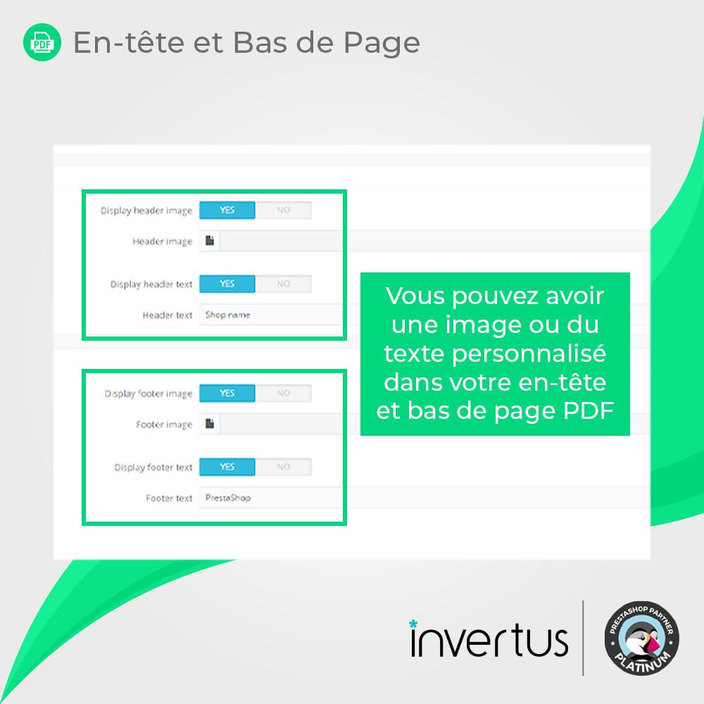 module - Information supplémentaire & Onglet produit - Produit au PDF format - voir, télécharger, imprimer - 8