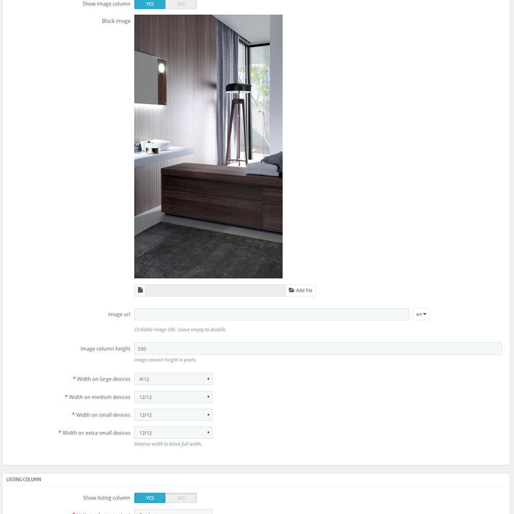 module - Produkte auf der Startseite - Custom product blocks and listings for homepage - 9