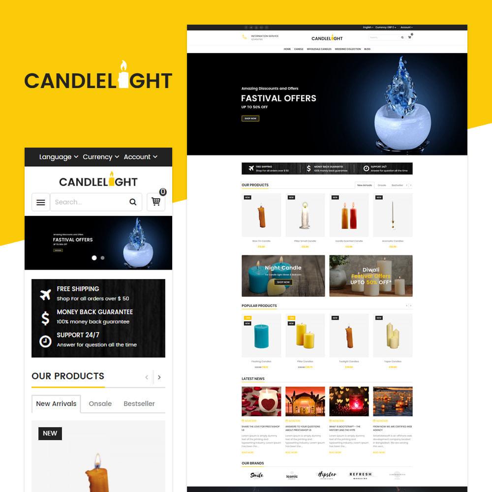 theme - Regali, Fiori & Feste - Candela - Responsive Store - 1