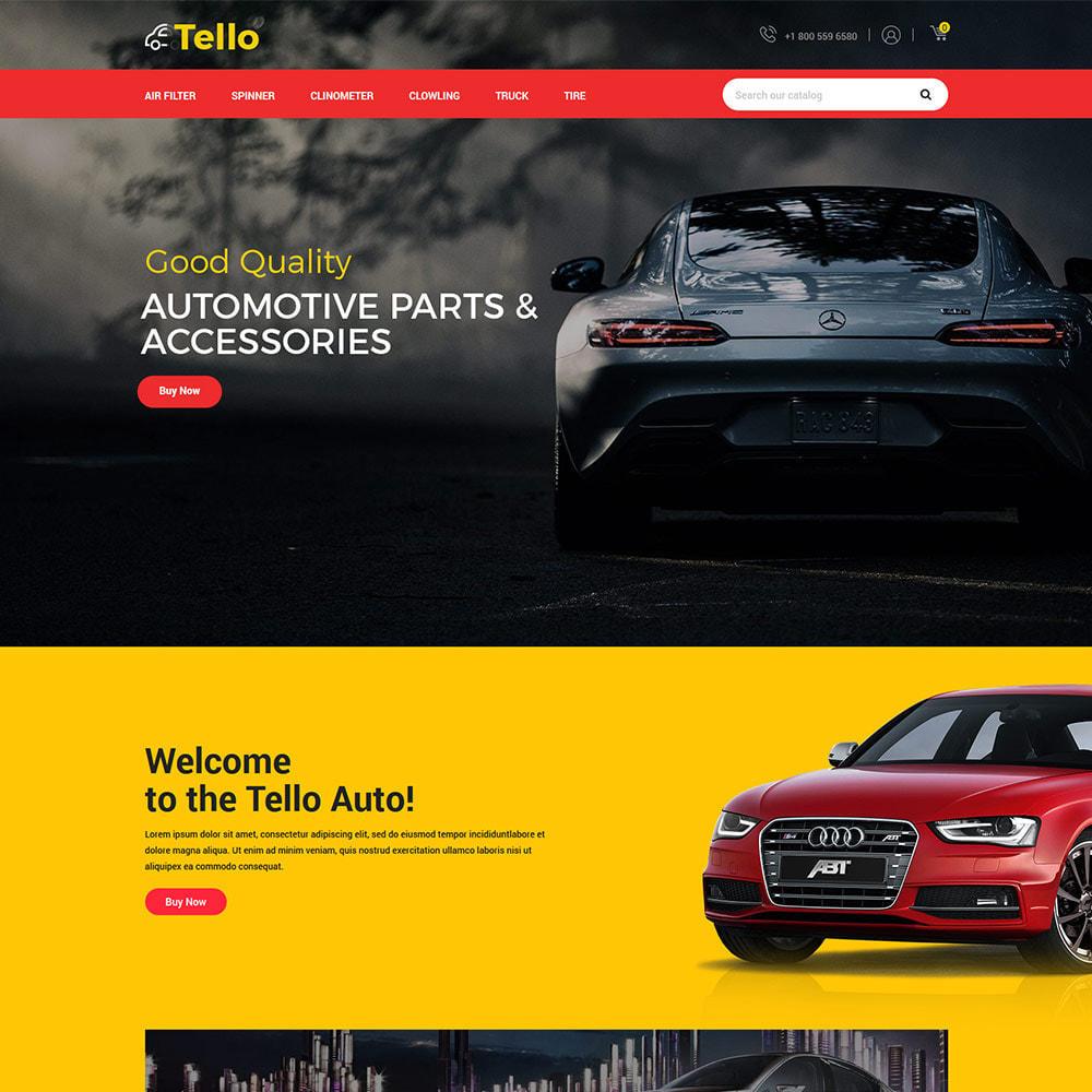 theme - Авто и Мото - Auto Moto - Tool Car Spare Wheel Store - 2