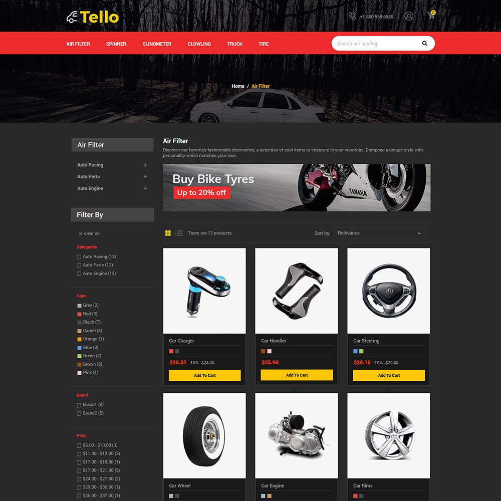 theme - Авто и Мото - Auto Moto - Tool Car Spare Wheel Store - 3
