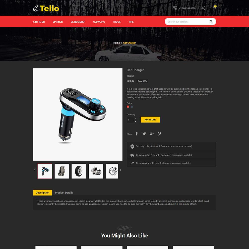 theme - Авто и Мото - Auto Moto - Tool Car Spare Wheel Store - 5