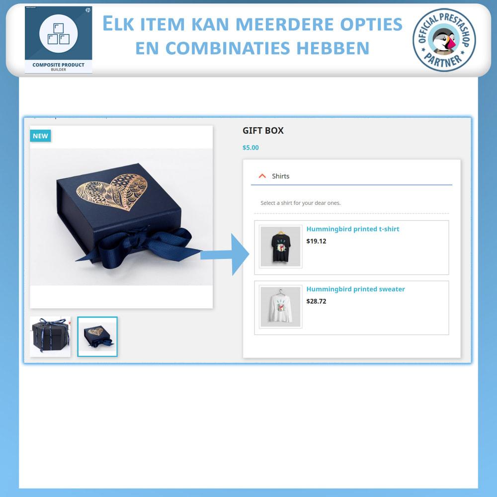 module - Kruisverkoop & Pakketaanbiedingen - Samengestelde Product Bouwer - 3