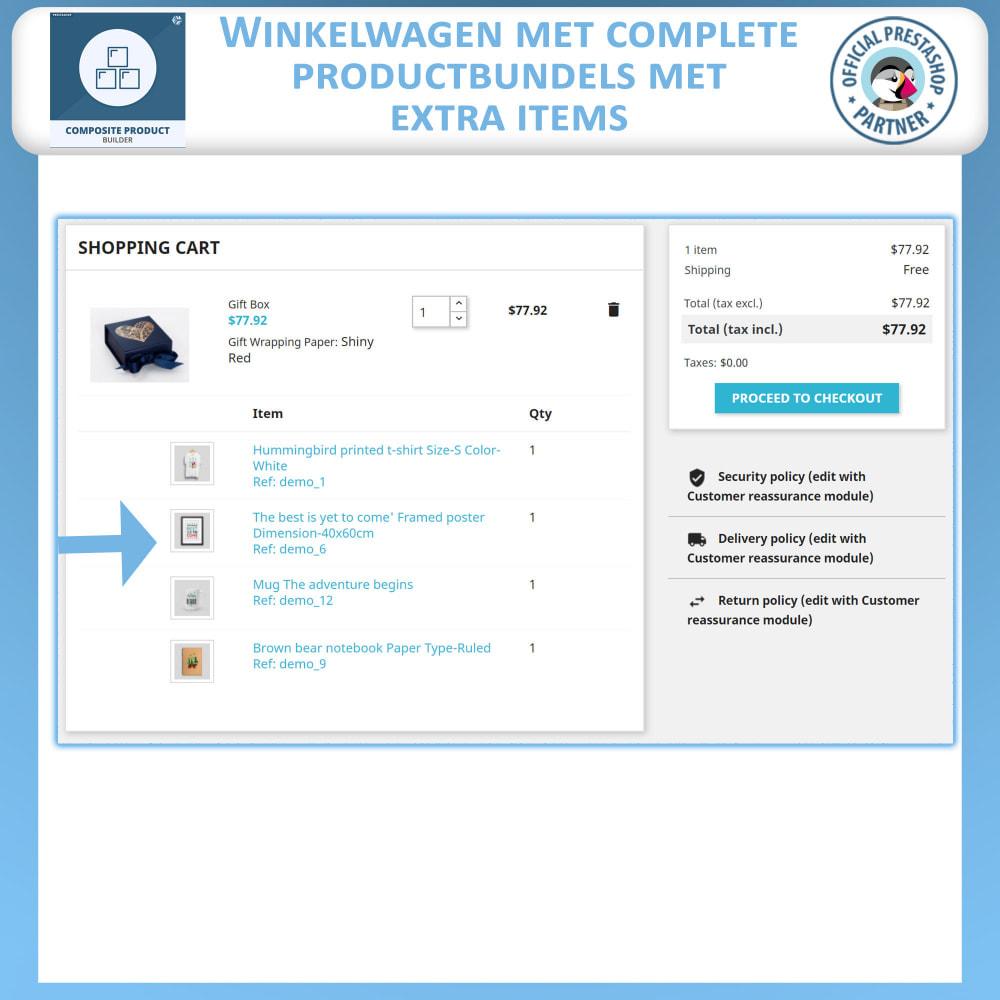 module - Kruisverkoop & Pakketaanbiedingen - Samengestelde Product Bouwer - 7