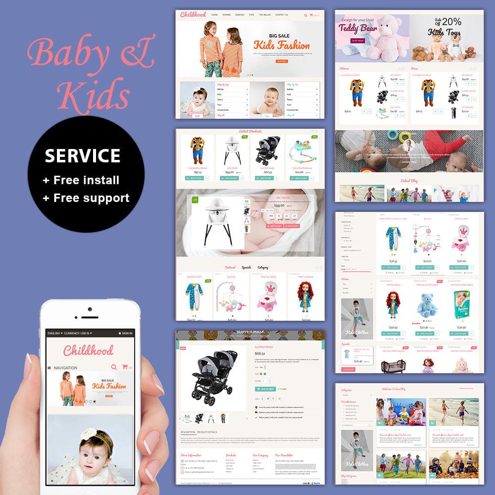 theme - Kinderen & Speelgoed - Baby Childhood - 1