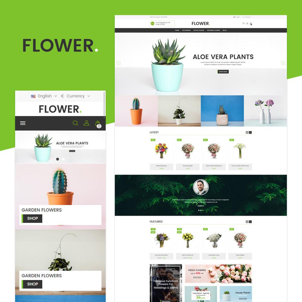 theme - Presentes, Flores & Comemorações - Floricultura - 1