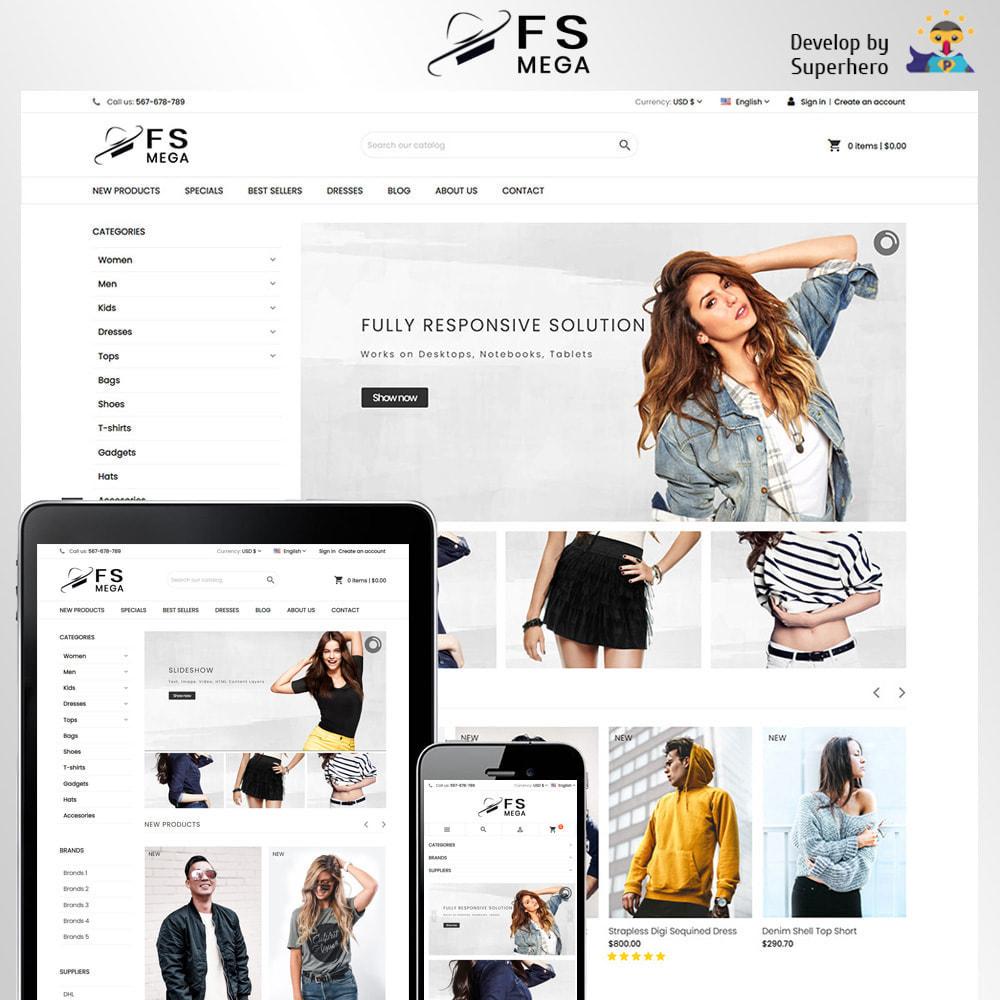 theme - Moda & Calçados - Mega Fashion Store - 1