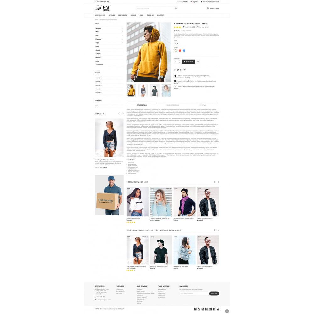 theme - Moda & Obuwie - Mega Fashion Store - 4