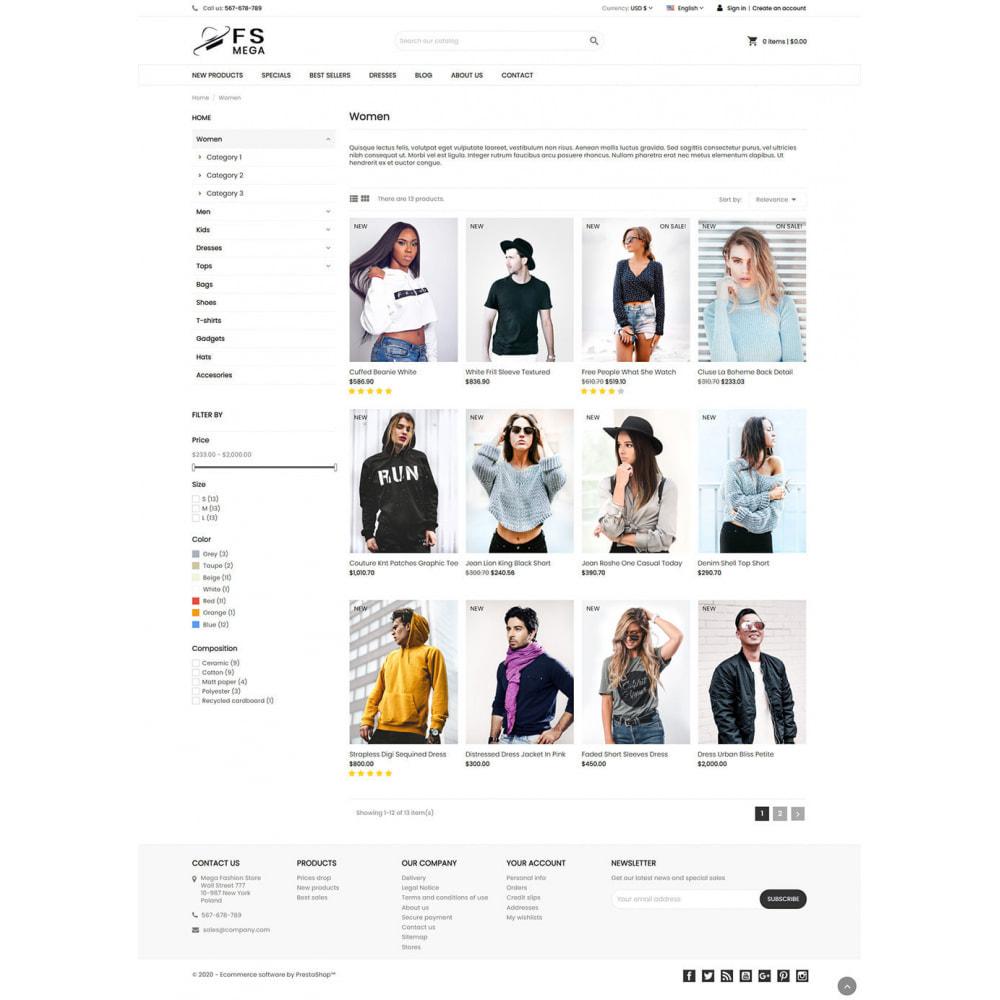 theme - Moda & Obuwie - Mega Fashion Store - 5