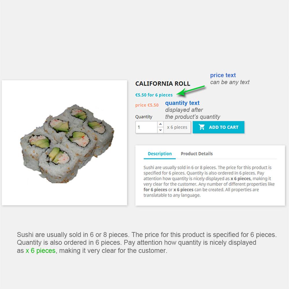 module - Omvang en eenheden - Product Properties Extension-sell by weight, length,etc - 3