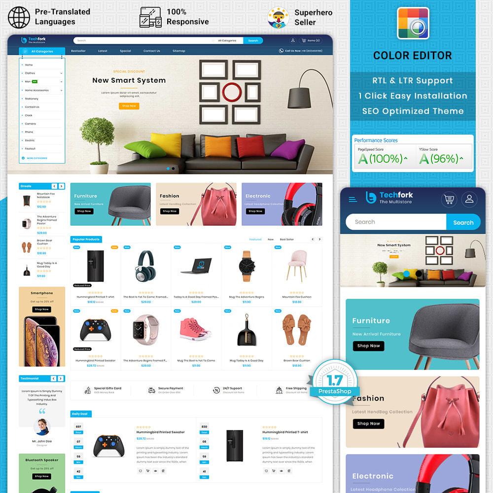 theme - Elektronica & High Tech - Tachfork - The Best Electronics Super Store - 1