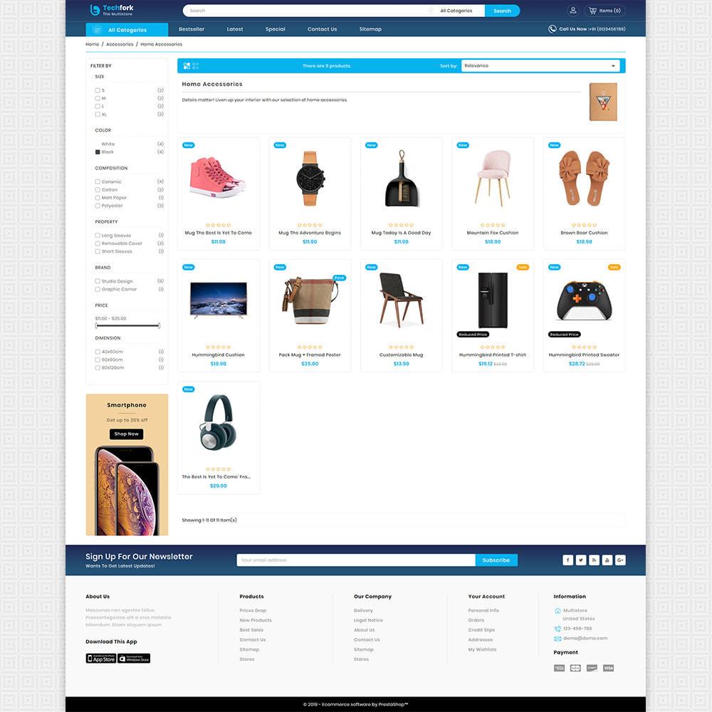 theme - Elektronica & High Tech - Tachfork - The Best Electronics Super Store - 3