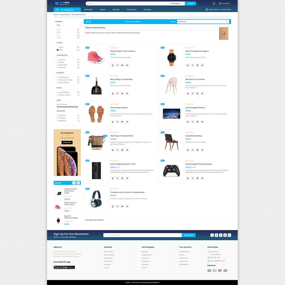 theme - Elektronica & High Tech - Tachfork - The Best Electronics Super Store - 4