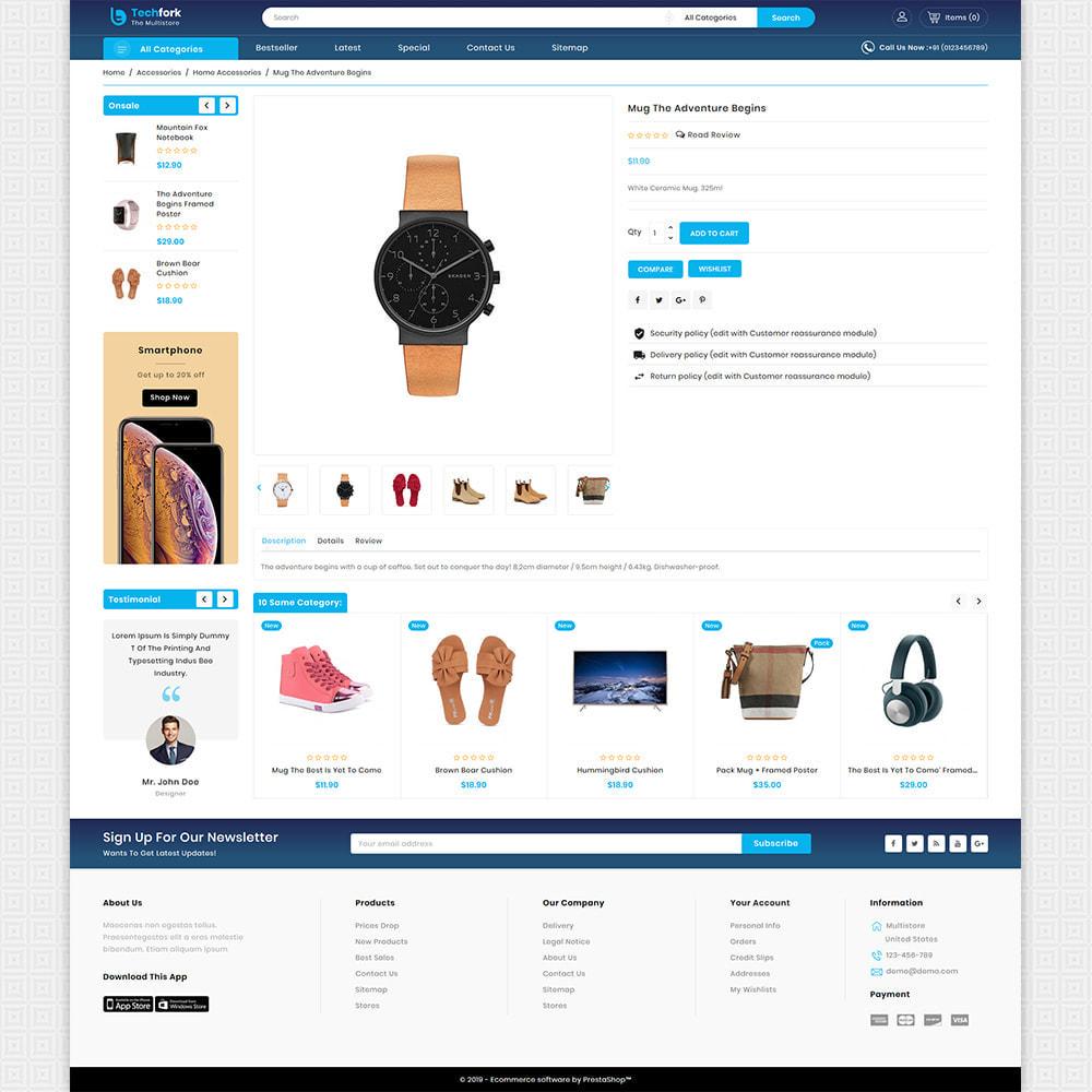 theme - Elektronica & High Tech - Tachfork - The Best Electronics Super Store - 5