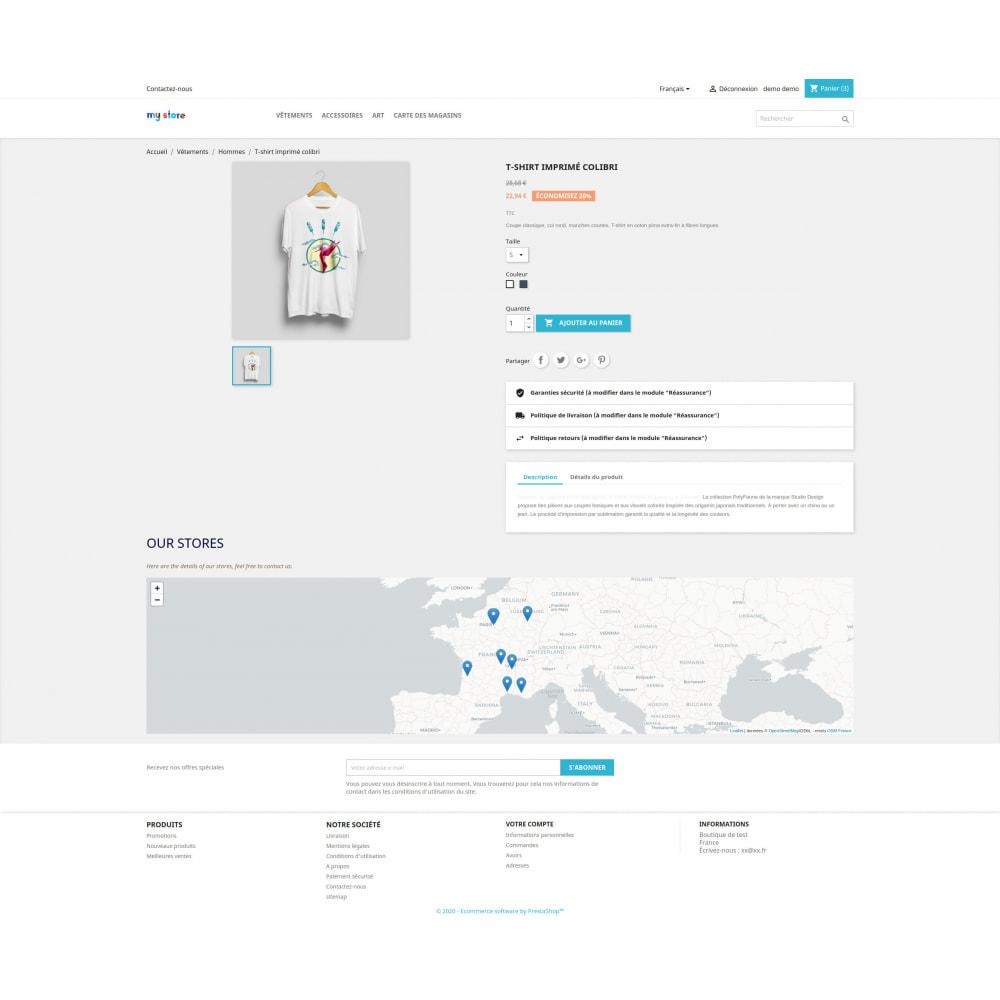 module - International & Localisation - Bloc carte des magasins (sans Googlemap) - 2