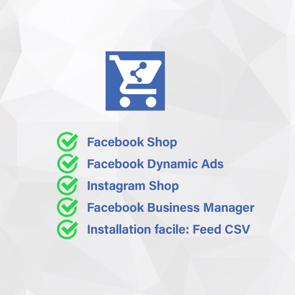 module - Produits sur Facebook & réseaux sociaux - Importateur de Catalogue sur Facebook et Instagram Shop - 2