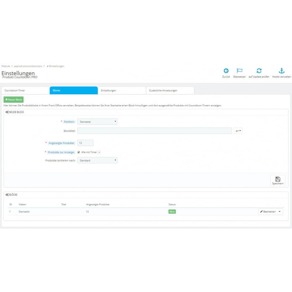 module - Flash & Private Sales - Produkt Countdown PRO - 9